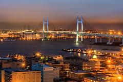 Twinkle Stars (Sylvia Ting Photography) Tags: yokohama bay bridge dusk stars eos5dsr