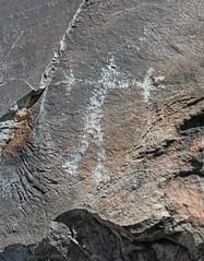 Petroglyph / Little Lake Site (Ron Wolf) Tags: anthropology archaeology nativeamerican anthromorph anthropomorph digitated petroglyph rockart stickfigure california littlelake