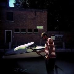 Venice (Etienne Despois) Tags: holga xpro venice travel travelplanet