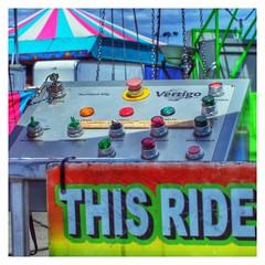 This Ride  #California #Sacramento #StateFair #much #latergram #ride #fair #controlpanel #rainbow #buttons #ThisRide #ruler #whatsitfor #curious (word problem) Tags: california sacramento statefair much latergram ride fair controlpanel rainbow buttons thisride ruler whatsitfor curious
