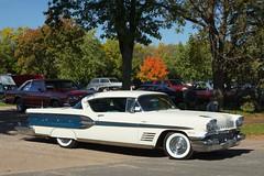 1958 Pontiac Bonneville (Crown Star Images) Tags: car cars carshow automobile auto automobiles automotive 1958 pontiac bonneville 58 2door 2doorhardtop hardtop gm generalmotors