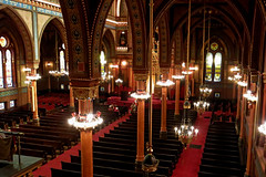 Isaac M. Wise (Plum Street) Temple view from above