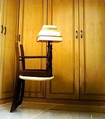 One Tough Chair (ShortPoints) Tags: tough rough life wisdom chair books cupboard wardrobe balance strong