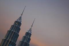 Petronas Towers (CEDRICtus) Tags: malaysia architecture sunset skyscrapper