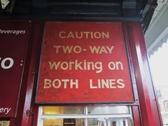Worcester Rail Signage (Bridgemarker Tim) Tags: railsigns stations worcester grammar trains