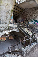 _O7A9180 (AntonyCASAFilms) Tags: urbex ue abandoned derelict decay fort military 19th century chartreuse stairs staircase steps