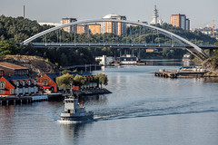 Stockholm (Tuomo Lindfors) Tags: meri sea vesi water ruotsi sweden sverige tukholma stockholm silta bridge topazlabs clarity dxo filmpack