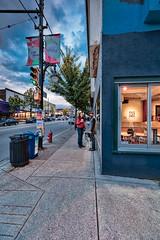 couplessz- (chrisvanedig2) Tags: couple street photography streetphotography dog east van eastvan commercialdrive