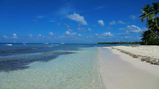 Dominican-Republic - Island of Saona - clear water & white sand