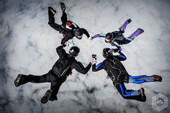 4 way FS (mathieufournel) Tags: skydiving sky flying jumping blueskies action sports