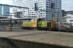 RRF V100 22 ([Publicer Transport] Ricardo Diepgrond) Tags: rrf rotterdam rail feeding 22 v100 loc diesel goederen utrecht centraal