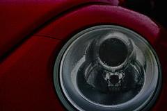 20160929_DP3M0866 (NAMARA EXPRESS) Tags: street car automobile vehicle light headlight eye metallic red raindrop waterdrop rainy outdoor color toyonaka osaka japan foveon sigma dp3 merrill namaraexp