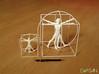 3D Printed Vitruvian Man 200mm (Dot San) Tags: 3dprinting shapeways leonardodivinci vitruvianman