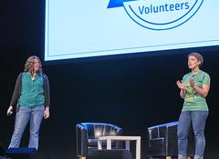 Volunteer Thanks - Closing Ceremony - Thursday - DrupalCon Dublin 2016