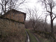 .. ! / Back in time.. today! (Deian Vladov) Tags: road trees house abandoned nature wall clouds barn rural spring ruins europa europe village stones branches arbres bulgaria stonewall dirtroad pierres balkans nuages maison mur bushes printemps  chemin balkan bulgarie abandonn     buissons  oublie staraplanina abandonne table  pis murdepierre    restes  bulgria  chemindeterre       blcs grandbalkan      stancha stantcha stana
