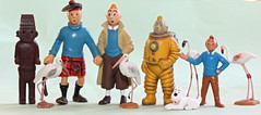 Size doensn't matter (Hannhell) Tags: toys snowy tintin collectable milou herge tintti