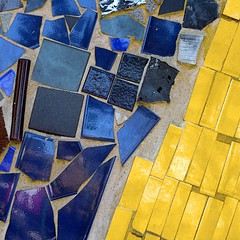 abstracted mosaic detail (msdonnalee) Tags: tile abstracto astratto abstrait mosaictile abstractreality mosaicdetail creativephotocafe mosaicisolation