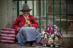 Old lady - Cuzco - Peru (lostin4tune) Tags: world poverty chile travel sunset wild people lake mountains hot peru colors machu picchu cuzco america de landscape volcano la amazing bath san wildlife south country paz valle bolivia luna pedro national andes lama geyser taquile salar par andean uyuni sajama titcaca