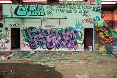 La Fabrica - 62 (r2hox) Tags: graffiti urbanart santiagodecompostela arteurbano abandonedspaces