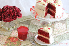 Red Velvet Cake (Hajar saif) Tags: