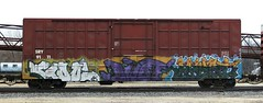 Cool/Dwot/Myst (quiet-silence) Tags: railroad art train graffiti cool ant railcar boxcar graff freight sry myst fr8 dwot cool45 sry9111