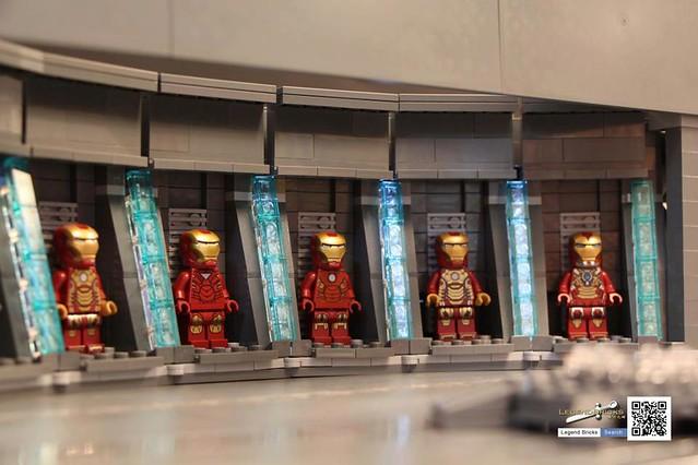 香港樂高玩家Jared的moc作品 鋼鐵人3 場景