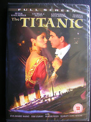 The Titanic Two Part Mini Series 1996. USA. (Jimmy Big Potatoes) Tags: films movies dvds vhs rmstitanic