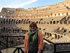 Inside the Roman Coliseum (whistlepunch) Tags: travel italy rome ruins amphitheatre arches coliseum romans gladiators