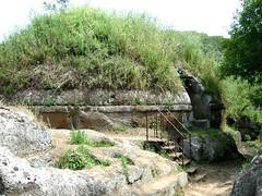 Banditaccia Tumulus Italy. (saamiblog) Tags: mounds necropolis tumulus prechristian villanovan preroman celtsgaulsetruscansgreeksinitalia 45centurybce