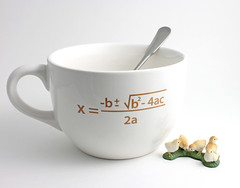 Jumbo Coffee Cup with Quadratic Equation (lltownley) Tags: art cup coffee coffeecup craft math mug formula equation mathematics coffeemug etsy quadraticequation quadratic upcycled quadraticformula