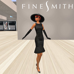 Breakfast at FineSmith! (KymSara) Tags: hat fashion blog hats jewelry redhead chapeau blogged laq sfdesigns kymsara finesmith