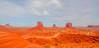Panoramic view of Monument Valley, UT (on the border of UT anbd AZ), USA.. (SuchismitaSen) Tags: red sky orange color monument nature colors landscape utah ut nikon colorful etsy monumentvalley sapphire finegold flickrhearts flickraward flickrbronzeaward exemplaryphotos internationalgeographic landscapesdreams spiritofphotography d7000 nikonflickraward wideanglelandscape addictedtonature nikond7000 naturesprime bestshotawards landscapelovers