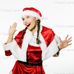 funny expressive santa claus woman (Franck Camhi) Tags: santa christmas xmas portrait people woman white paris france girl smile smiling female cutout happy person one 1 costume background joy young happiness whitebackground surprise friendly santaclaus surprised casual studioshot claus gesture isolated oneperson amazed shocked caucasian positivity onewoman