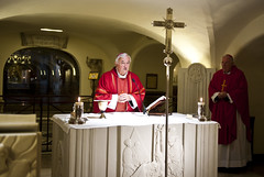 Bishops from England and Wales celebrated Mass at The Tomb of St Peter in the Basilica St Peter (Catholic Church (England and Wales)) Tags: from england st wales basilica tomb peter mass bishops celebrated the