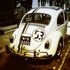 Love bug (photomoth) Tags: vw brighton beetle 53 herbie lovebug iphone valkswagon