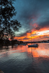 Glebe Sunset#2 (mraadsen) Tags: light sunset clouds sailboat landscape boat twilight yacht dusk low sydney australia nsw fullframe ef glebe foreshore blackwattlebay 24105f4lisusm canon6d