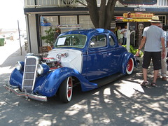 1935 Ford Coupe    ( Old School ) (Bob the Real Deal) Tags: california vintage oldschool hotrod custom coolest coupe hotrods bestofthebest kingsburg 1936ford thecoolest worldcars bestinterior canonsd850 1936fordcoupe 1935ford 1935fordcoupe thecoolesthotrod
