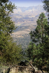 View over Jawbone Canyon from PCT, CA (Damon Tighe) Tags: california ca mountains america pacific wind farm north canyon crest trail backpacking pct jawbone tehachapi windfarm