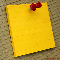 Thumb Tack (bruceywan) Tags: pin lego cork board pad note thumb push thumbtack photostream tack notepad pushpin moc ib3 ironbuilder brucelowellcom ibbl3