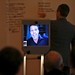 Tony Robbins, self-help author and motivational speaker, presenting via Beam Remote Presence