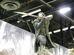 Weta Workshop Booth (KiwiHugger) Tags: wetaworkshop thorinoakenshield calgarycomicexpo