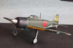 Japanese Zero fighter is ready to take off (James Tung) Tags: fighter zero witty 52 172 diecast a6m5