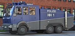 WaWe 1 (cmdpirx) Tags: water germany wasser hamburg police cannon hh polizei fts wawe acab bundespolizei werfer