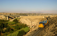 Trenes del Huasco (Sebastián Betancourt) Tags: chile tren locomotora transporte ferrocarril hierro carga emd vallenar huasco ferronor d2808 llanosdesoto trendelhierro minaloscolorados