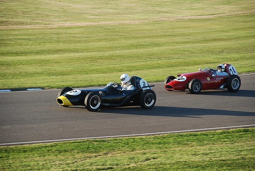 Elva-BMC 100 1959 (no. 2) and Stanguelli-Fiat 1089cc 1959 (no. 24) - Chichester Cup