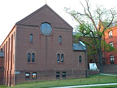 Poor Clares Chapel (jannetie) Tags: park railroad trees sunset red brick green water train reflections garden newjersey twilight cross pennsylvania bricks wroughtiron traintracks lawn bank trains stainedglass nuns monastery smokestack crucifix tugboat slate convent barge stmaryschurch redoak hilltop roadwork brickwork churchst mercercounty delawareriver flemishbond yachtclub railroadtracks barges methodistchurch paddlewheeler railroadtrestle assistedliving slateroof presbyterianchurch etchedglass crosswickscreek burlingtoncounty pennsylvaniarailroad trentonnj duckisland stmarysschool firehousegallery seniorliving bordentownnj poorclare lockkeepershouse englishbond poorclares burlingtonst delawareandraritancanal farmersandmechanics farnsworthave firstlock yapewiaquaticclub farnsworthavenue appshardware boatclubhouses juanitacrosby crosswicksstreet