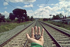 Una entre un milln // One in a million. (Hachetec) Tags: love train de tren one amor un million antonio jos henares piedras espinosa alcal garca vas milln