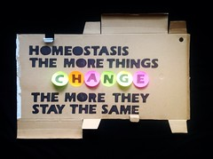 Homeostasis the more things change the more they stay the same (alshepmcr) Tags: streetart art sex manchester stencil culture same change homeostasis alshepmcer