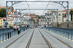 Dom Lus Bridge, Porto, Portugal (JAhrensy) Tags: travel food portugal nikon adventure porto editorial nikkor westerneurope 2012 d7000 meganahrens megseuro2400