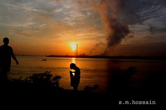 good morning, Bashirbhai. (manwar2010) Tags: india art sunrise canon geotagged boat asia flickr award chrome contacts come geo geotag ganga explored earthasia uluberia googlechrome